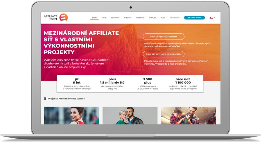 affiliate síť AffiliatePort.cz