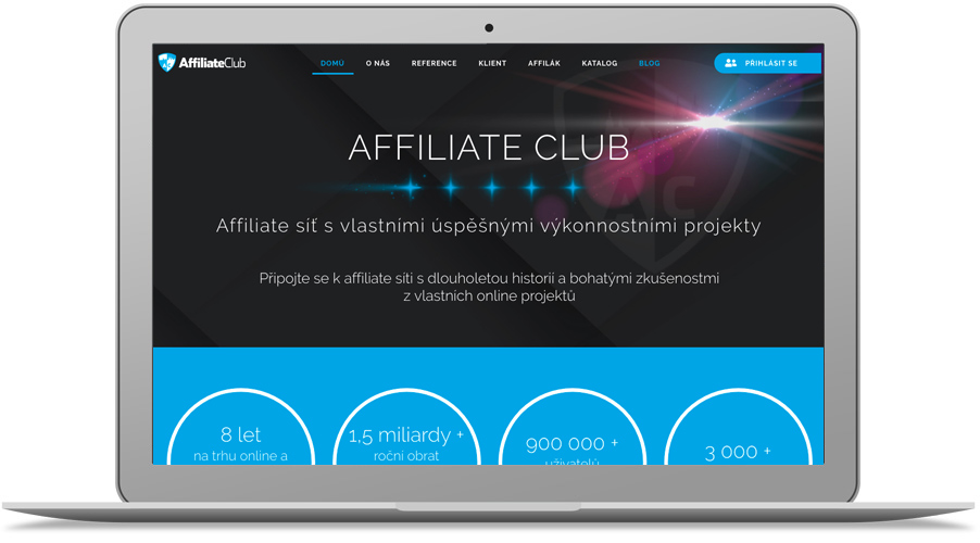 affiliate síť AffiliateClub.cz