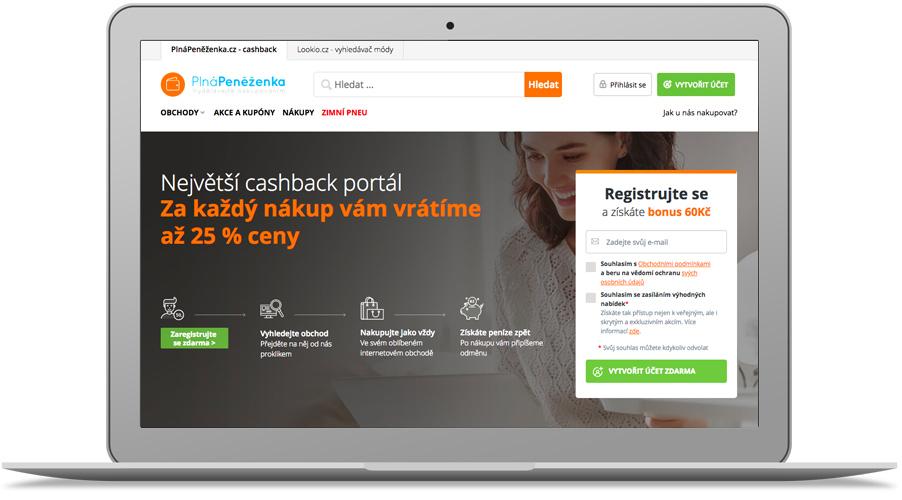 Cashback portál Plná Peněženka